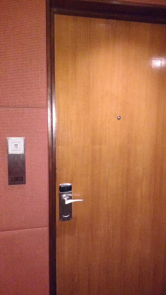 Door to the room