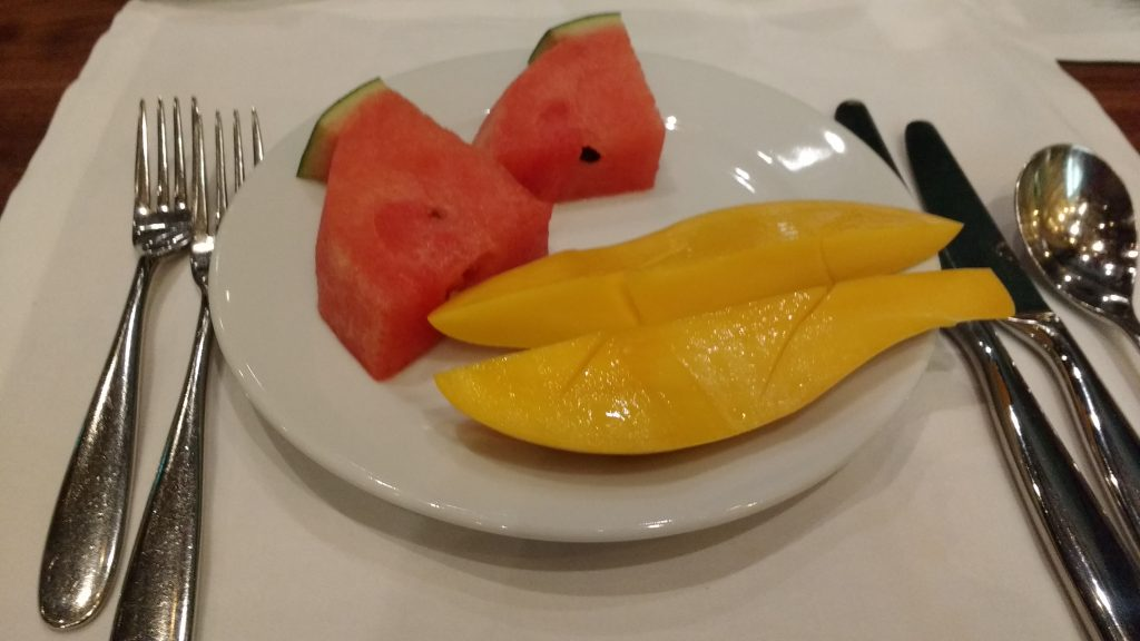 Fresh fruit at Rossini's